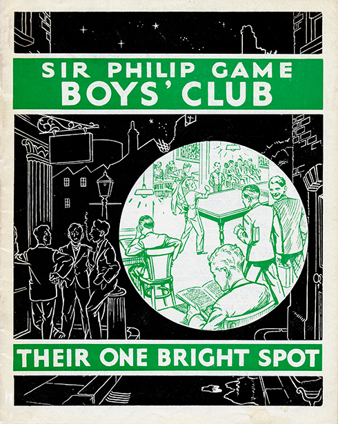 Ninth annual report of the Sir Philip Game Boy's Club. 1st April, 1952 to 31st March 1953.